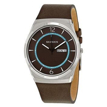 Skagen Melbye Black Dial Mens Watch SKW6305