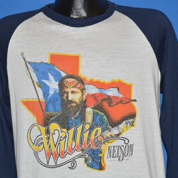 80s Willie Nelson City Of New Orleans Album t-shirt Large