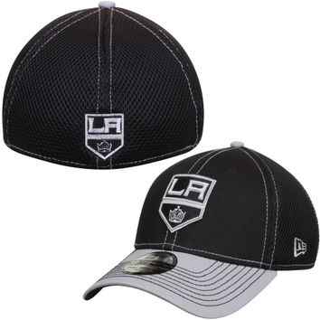 Los Angeles Kings New Era Two-Tone Neo 39THIRTY Flex Hat – Black/Gray