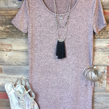 Make You Remember Tunic Dress: Rose