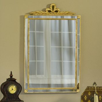 Mirror with Side Glass Antique (Gold/Silver)