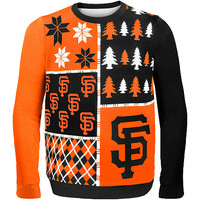 Forever Collectibles Men's San Francisco Giants Busy Block Ugly Sweater