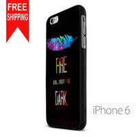 Hunger Games Fire Qoute Design US iPhone 6 Case