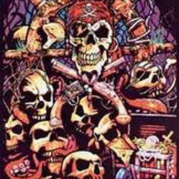 Barnacle Bill - Blacklight Velvet Poster