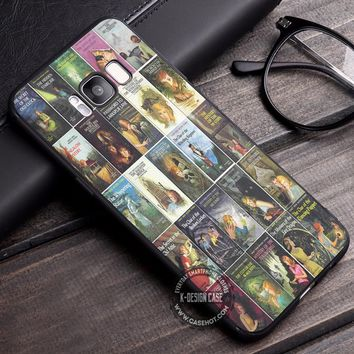 All Books Nancy Drew iPhone X 8 7 Plus 6s Cases Samsung Galaxy S8 Plus S7 edge NOTE 8 Covers #iphoneX #SamsungS8