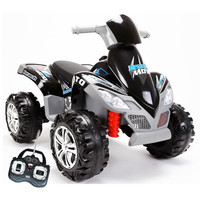 12v Mega Ride-On Quad Bike With Remote Controls - £169.99 : Kids Electric Cars, Little Cars for Little People