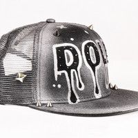 Bad Doll Art Snapback Hat