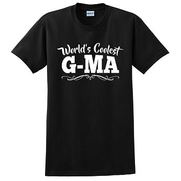 World's coolest g-ma Mother's day birthday gift ideas for new grandma proud grandmom gifts for her T Shirt