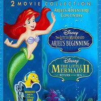 Little Mermaid 2/Ariels Beginning-2 Movie Collection (Blu-Ray/Dvd)