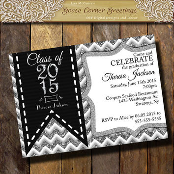 Class Of 2015 Graduation Invitations