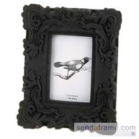 Black BAROQUE frame by SIXTREES? - Picture Frames, Photo Albums, Personalized and Engraved Digital Photo Gifts - SendAFrame