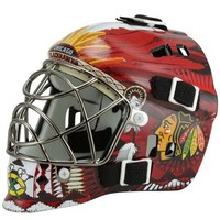Chicago Blackhawks Mini Goalie Mask - Red