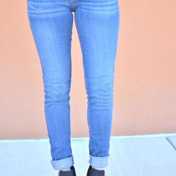 On The Go Skinny Jeans