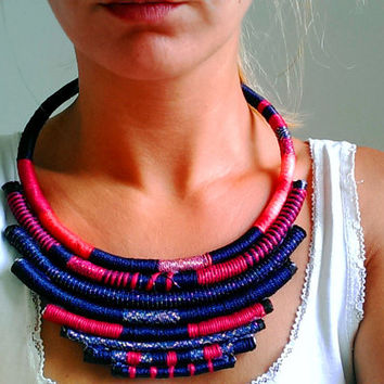 Statement necklace, Tribal Necklace, African Jewelry, Africa Jewelry, African Necklace, Gift For Her, Africa Necklace, Ethnic Necklace