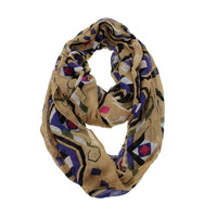 MIR Womens Modal Decorative Loop Scarf