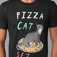 Glamour Kills Pizza Cat Tee