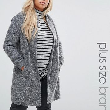 New Look Plus Bomber Coat at asos.com