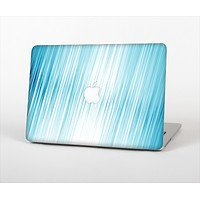 The Bright Diagonal Blue Streaks Skin Set for the Apple MacBook Air 13""