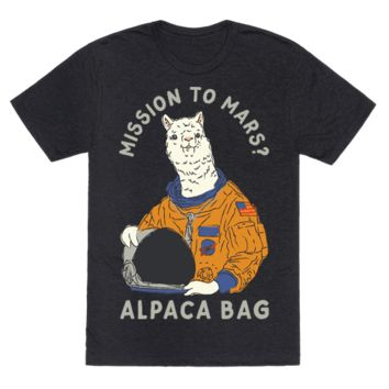 MISSION TO MARS ALPACA BAG
