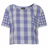 Gingham Pocket Tee