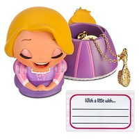 Kidada for Disney Store Wish-a-Little Rapunzel Figure with Charm Necklace | Necklaces | Disney Store