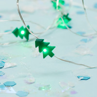 Christmas Tree Green String Lights