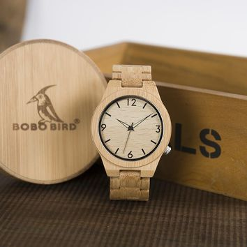 BOBO BIRD Bamboo Classic Watch