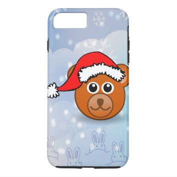 Christmas Bear iPhone 7 Plus Case