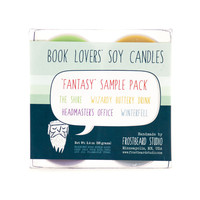 FANTASY - Tea Light Sample Pack - Book Lovers' Scented Soy Candles