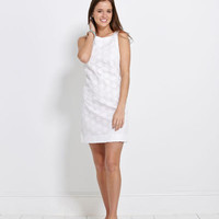 Summer Dresses for Women: Ellie Eyelet Summer Shift Dress - Vineyard Vines