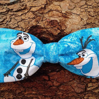 Bow Tie  Collar Attachment & Accessory for Dogs and Cats - Frozen OLAF Bow tie