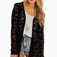 Makes Me Wanna Lace Cardigan $64