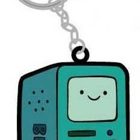Adventure Time Rubber Keychain Beemo BMO