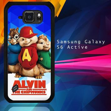 Alvin And The Chipmunks R0317 Samsung Galaxy S6 Active  Case