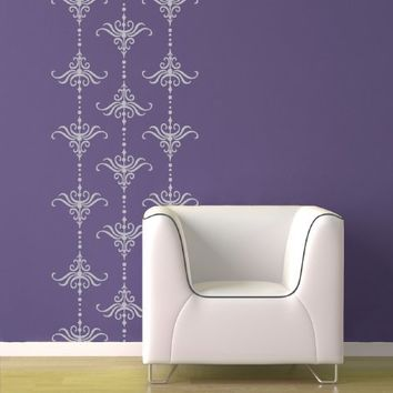 Supermarket - 18 Vintage Damask Style Vinyl Wall Graphics from Old Barn Rescue Company Wall Decals
