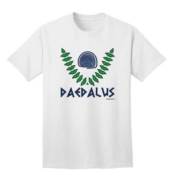 Labyrinth - Daedalus - Greek Mythology Color Adult T-Shirt by TooLoud