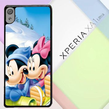 Mickey Mouse And Minnie Mouse X4965 Sony Xperia XA1 Ultra Case
