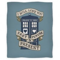 Doctor Who Love Blanket