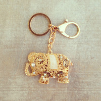 Pree Brulee - Sparkling Elephant Keychain