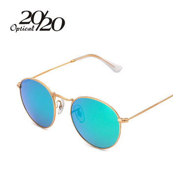 2016 Newest Brand Designer Women Round Sunglasses Fashion Polarized Sun Glasses Men gafas oculos de sol Eyewear 3447