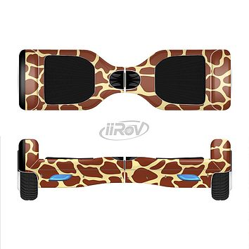 The Simple Vector Giraffe Print Full-Body Skin Set for the Smart Drifting SuperCharged iiRov HoverBoard