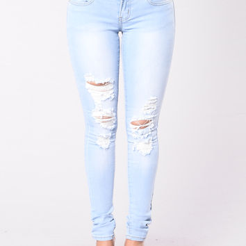 Woman Crush Wednesday Jeans - Light Blue