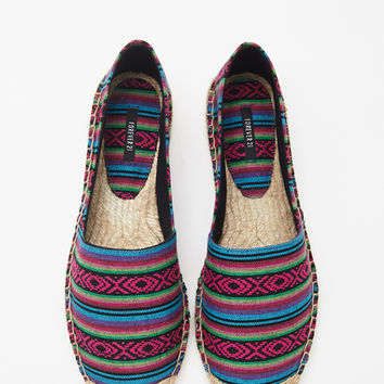 Tribal-Inspired Espadrilles