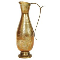 Indian Brass Pitcher