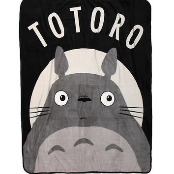 Studio Ghibli My Neighbor Totoro Character Throw Blanket 3850394cd6