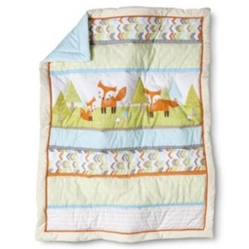 Circo® Woodland Trails 4pc Crib Bedding Set