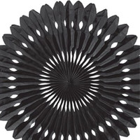 Paper fan Black decorations //  Photo booth prop // children's party decor // Pinwheel // Wedding backdrop  / Pomwheel / Party Decoration