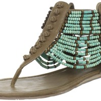 Coconuts by Matisse Women's Aztec Sandal,Turquoise,9 M US