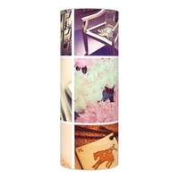 Custom Instagram Photo Collage Flameless Candle