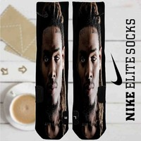 Fetty Wap Custom Nike Elite Socks